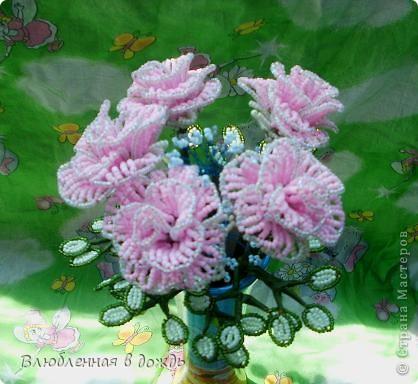 Букет был создан по этому МК: http://marrietta.ru/post192414540/ Спасибо огромное автору этого подробного мастер-класса!!! фото 3