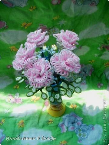 Букет был создан по этому МК: http://marrietta.ru/post192414540/ Спасибо огромное автору этого подробного мастер-класса!!! фото 4