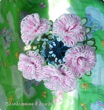 Букет был создан по этому МК: http://marrietta.ru/post192414540/ Спасибо огромное автору этого подробного мастер-класса!!! фото 5
