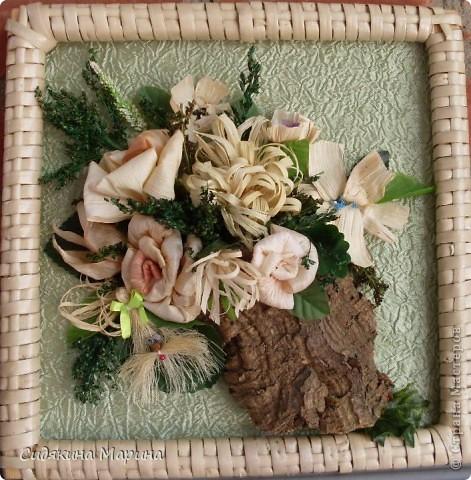 Цветы из кукурузных листьев. фото 3