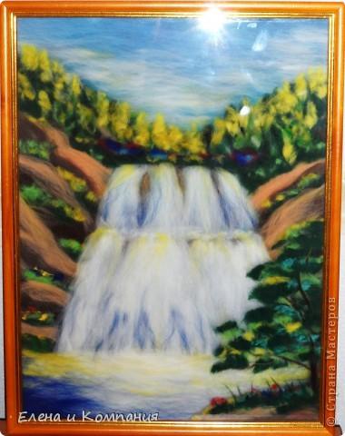 Шерсть. Лесной водопад