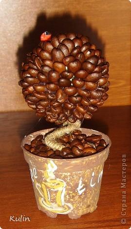 Цветок-лилипут из монет ,высота 12 см фото 7