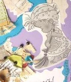 """Последние дни отпуска. Пока есть время занялась загрузкой))). Еще открытки - детские. И снова с названиями. Эта """"Маленькой принцессе"""". фото 5"""