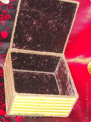 моя красавишна дебютная)))сподобила меня на подвиг Ната http://stranamasterov.ru/node/191821?c=favorite,увидела и просто заболеле.Нашла салфетки и все,весь дом обрыла в поиске коробки))). Прошу вашего мнения)) фото 4