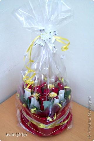 Попросили меня сделать сладкий подарок,и что-нибудь с сердечками.  фото 4