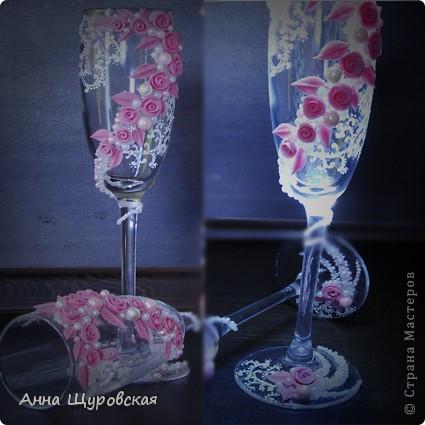 Идею в оформлении бутылок взяла у Ирины Ивановой.я ее поклонник и большое спасибо ей за  ее  прекрасные идеи и помошь как делать листики,цветочки... фото 8