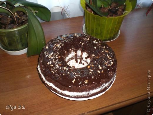 Такой шоколадный кекс я готовила на день рождения.