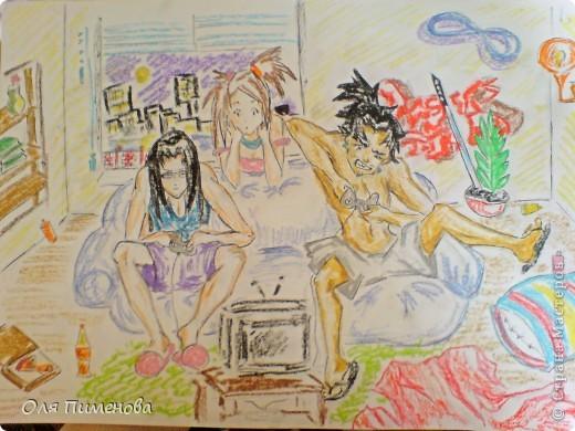 рисунки по аниме samurai champloo фото 3