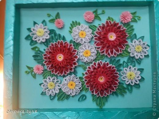 Мои бумажные цветочки. фото 7