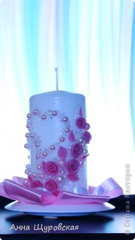 Идею в оформлении бутылок взяла у Ирины Ивановой.я ее поклонник и большое спасибо ей за  ее  прекрасные идеи и помошь как делать листики,цветочки... фото 6