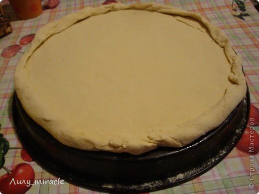 Розан это круглая булочка с загнутыми внутрь углами. В нашем случае это а-ля пицца) Оочень вкусно и малокалорийно) фото 4