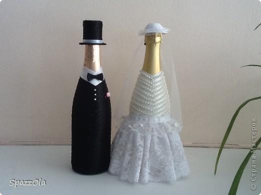 у подружки женится сын, попросили сделать некоторые атрибуты свадьбы. Вот что получилось фото 1