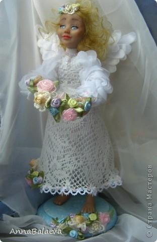 Ангелочек в райском саду (сделан на заказ) фото 3