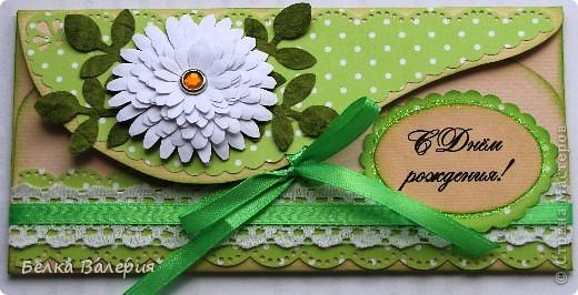 Доброго времени суток всем жителям СМ! Сегодня у меня конверты для денежного подарка. фото 1