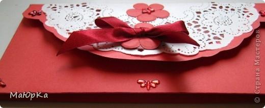 Неожиданное приглашение на свадьбу подтолкнуло к созданию конвертика. фото 2