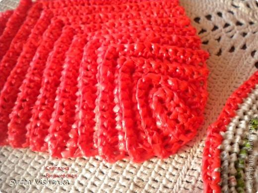 МК . Красные шлёпки - тапки . фото 4