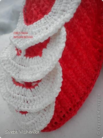МК . Красные шлёпки - тапки . фото 5