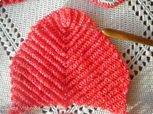 МК . Красные шлёпки - тапки . фото 3