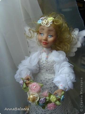 Ангелочек в райском саду (сделан на заказ) фото 4