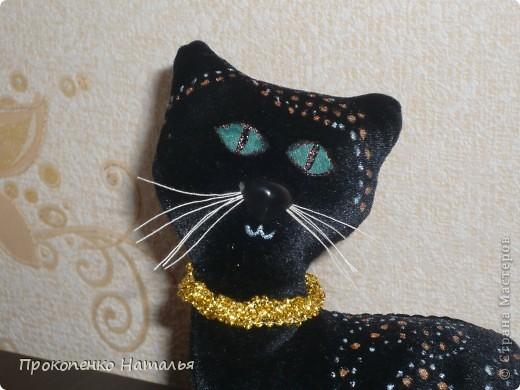Теперь и в моей коллекции поделок появилась вот такая кошка! Я думаю, что никого кошки  steplin (http://stranamasterov.ru/node/379131?c=favorite), Ольги Качуровской ( спасибо за МК http://stranamasterov.ru/node/368774?c=favorite) и Марины Седовой (http://stranamasterov.ru/user/88842) не  оставят  равнодушными. Вот и я не исключение. Теперь эта кошка стильно вписывается в  интерьер. фото 3
