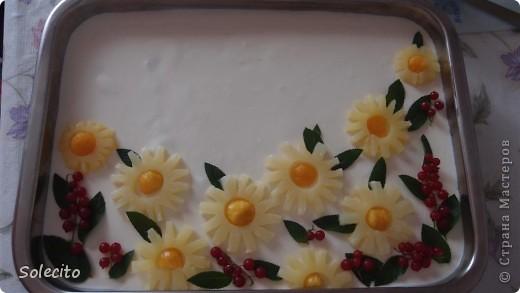 Вот  таким тортиком  поздравила коллегу  с юбилеем! фото 3