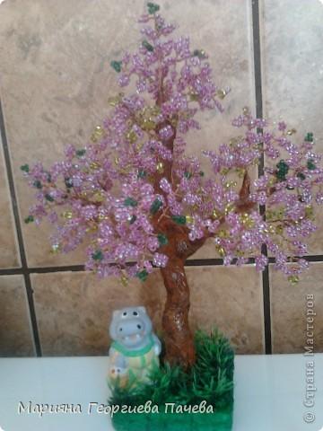 дръвчета от мъниста фото 10