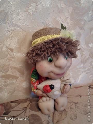 Это Федюша, мой первый домовенок по МК Оксаны Третьяковой http://stranamasterov.ru/node/164787?tid=451%2C1034. Не смогла пройти мимо.... за что ей огромное спасибо!!!! фото 2