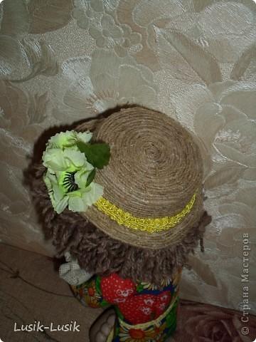 Это Федюша, мой первый домовенок по МК Оксаны Третьяковой http://stranamasterov.ru/node/164787?tid=451%2C1034. Не смогла пройти мимо.... за что ей огромное спасибо!!!! фото 3