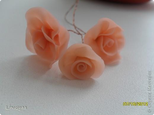 Эти цветочки из самодельного хф,у них листочки очень хорошо гнутся фото 1