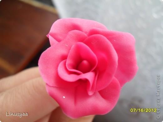 Эти цветочки из самодельного хф,у них листочки очень хорошо гнутся фото 3