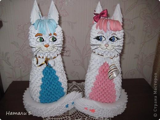 Влюбленная парочка (Кошечка и котик) фото 1