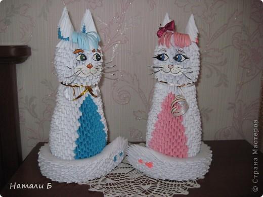 Влюбленная парочка (Кошечка и котик) фото 2