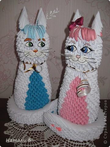 Влюбленная парочка (Кошечка и котик) фото 3