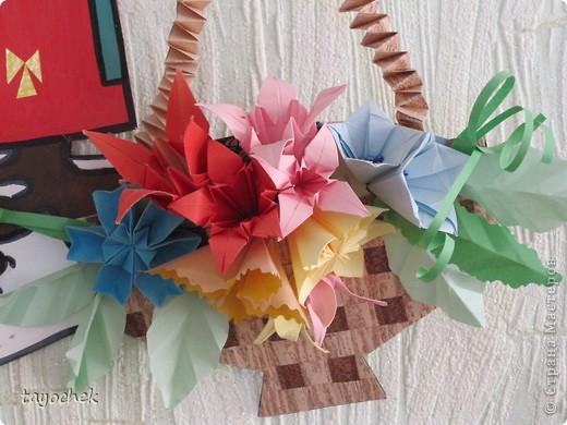 Летнее цветочное панно фото 3