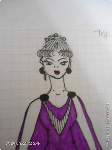 вот пробовала рисовать моделей,как получилось,судить ВАМ))) фото 2
