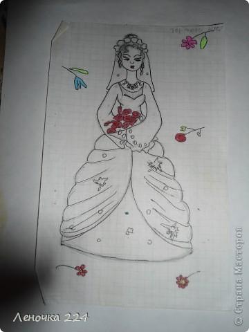 вот пробовала рисовать моделей,как получилось,судить ВАМ))) фото 3