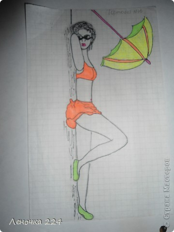 вот пробовала рисовать моделей,как получилось,судить ВАМ))) фото 6
