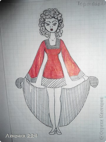 вот пробовала рисовать моделей,как получилось,судить ВАМ))) фото 9