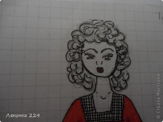 вот пробовала рисовать моделей,как получилось,судить ВАМ))) фото 10