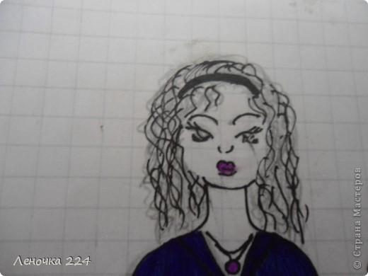 вот пробовала рисовать моделей,как получилось,судить ВАМ))) фото 14