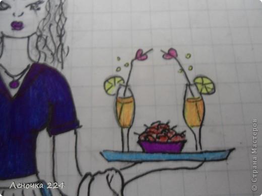 вот пробовала рисовать моделей,как получилось,судить ВАМ))) фото 13