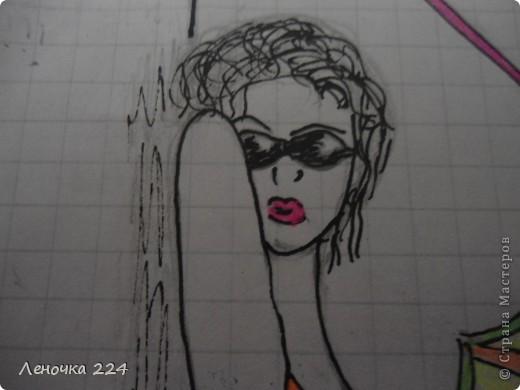вот пробовала рисовать моделей,как получилось,судить ВАМ))) фото 7