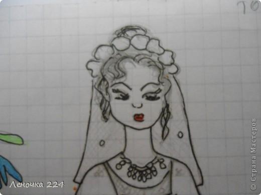 вот пробовала рисовать моделей,как получилось,судить ВАМ))) фото 5