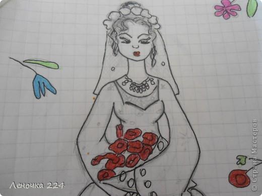 вот пробовала рисовать моделей,как получилось,судить ВАМ))) фото 4
