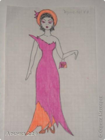 вот пробовала рисовать моделей,как получилось,судить ВАМ))) фото 8
