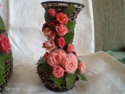 В субботу мне принесли вазы,попросили сделать к среде. Напольная мне не очень нравиться.Нужен совет,что убрать фото 4