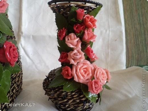 В субботу мне принесли вазы,попросили сделать к среде. Напольная мне не очень нравиться.Нужен совет,что убрать фото 5