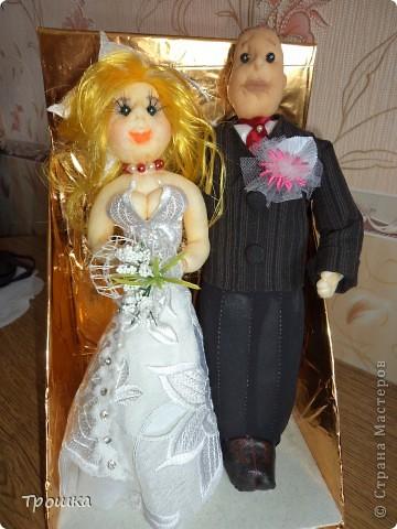 Подарок на свадьбу для моих любимых друзей. фото 1