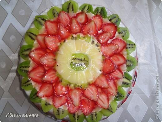 просто вкусный торт))