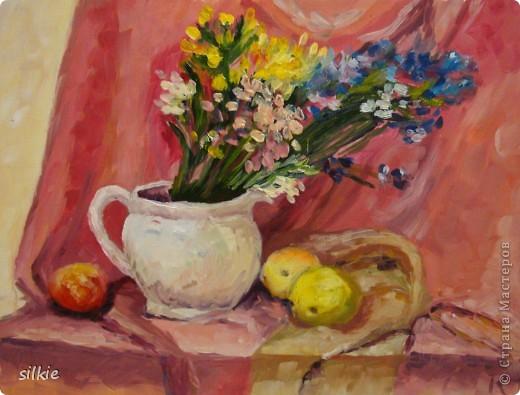 Натюрморт с сухоцветами